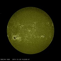 File:Sunspot Group AR 2192 Crackles.webm