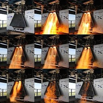 SuperDraco - SuperDraco Test Fire Mosaic