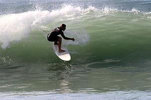 Surfing La courbe, charente