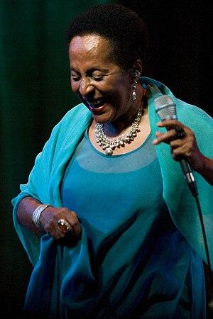 Susana Baca - Susan Baca in Santa Cruz, 17 April 2010