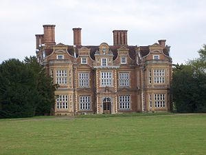 Ickenham - Swakeleys House was built in 1638.