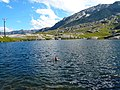Swimm at Gottard Pass lakes - panoramio.jpg