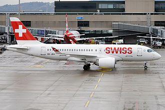 Swiss Global Air Lines - Swiss Global Air Lines Bombardier CS100