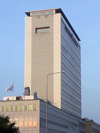 Sydsvenskan - The former main headquarters in Malmö.