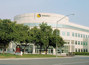 Symantec headquarters in Cupertino, California.