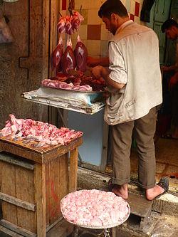 Syrian butcher in Aleppo1.JPG