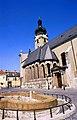 Székesegyház gótikus oldalhajója, Győr (1993. május 23.).jpg