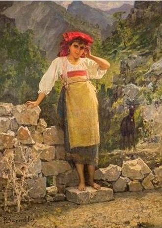 Pantaleon Szyndler - Image: Szyndler Shepherdess