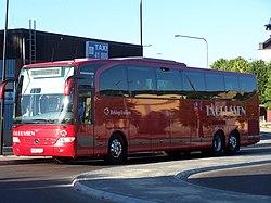 Togbussen, tidligere erættning til Kustpilen under renovering af Blekinge kystbane.