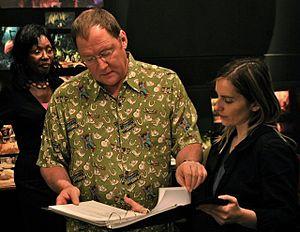 English: John Lasseter, Chief Creative Officer...