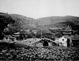 Mount Putuo - Photograph by Scottish photographer John Thomson, 1867.