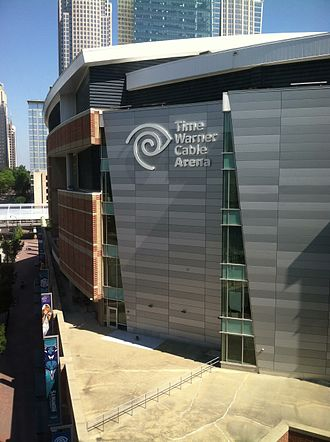 Spectrum Center (arena) - Time Warner Cable Arena in 2015