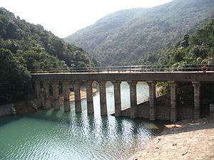 Tai Tam Waterworks Heritage Trail - Image: Tai Tam Reservoir 3