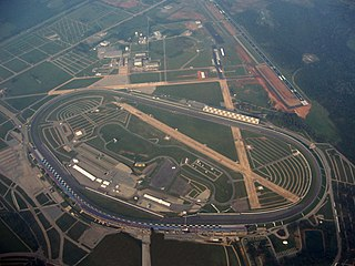 Talladega Superspeedway Motorsport track in the United States