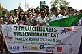 Tamil Actress Andrea Jeremiah joined U.S. Consul General Jennifer McIntyre to celebrate World Environment Day at Marina Beach on June 5, 2012 01.jpg