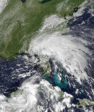 Tropical Storm Tammy - Image: Tammy Oct 5 2005 1815Z