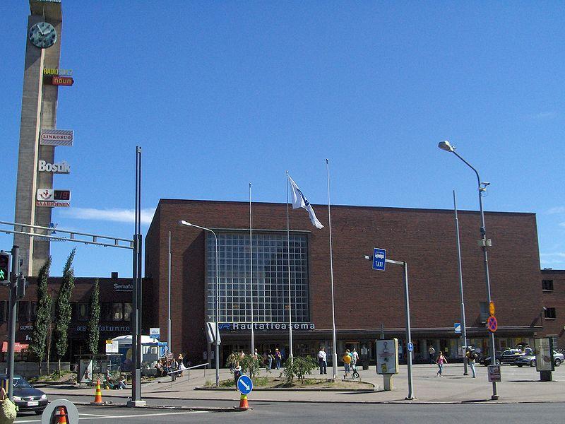 Juna Tampere Oulu
