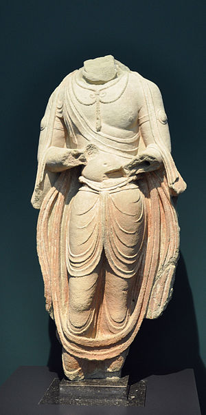 Tianlongshan Grottoes - Image: Tang Stehender Bodhisattva Museum Rietberg RCH 134