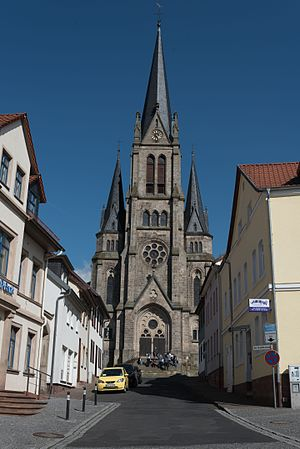 Tann, Hesse - Tann (Rhön), Protestant church