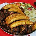 Tanzania food - Ndizi na kitimoto cha kukaanga.jpg