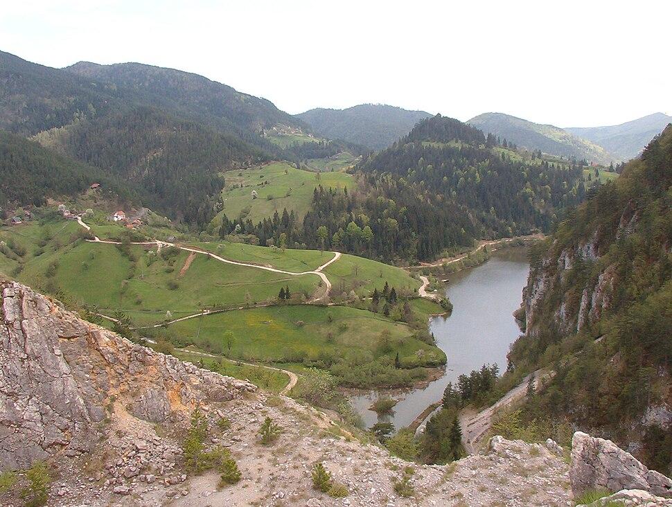 Tara jezero Djurici