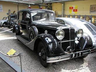Tatra 80 - 1935 landaulet built for TG Masaryk