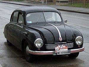 Tatra 600 - Image: Tatra T600 Tatraplan z 01
