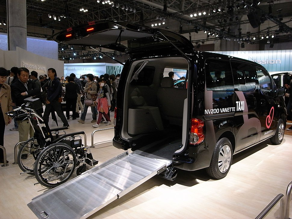 Taxi wheelchair