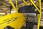 Taylor Cub interior - Oregon Air and Space Museum - Eugene, Oregon - DSC09862.jpg