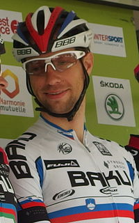 Matej Mugerli Road bicycle racer