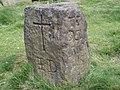 Te Deum Stone, on the Calderdale Way - geograph.org.uk - 882292.jpg