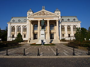 Iași National Theatre - Front view
