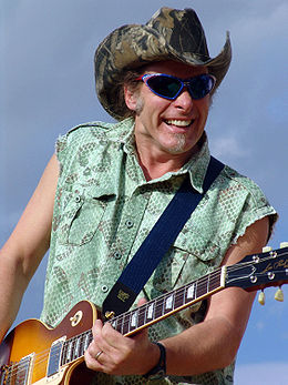 Ted Nugent in concert.jpg