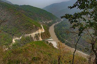 Teesta River - Teesta and Rangeet Confluence