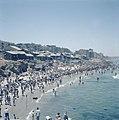Tel Aviv Drukte aan het strand op sabbat, Bestanddeelnr 255-9372.jpg