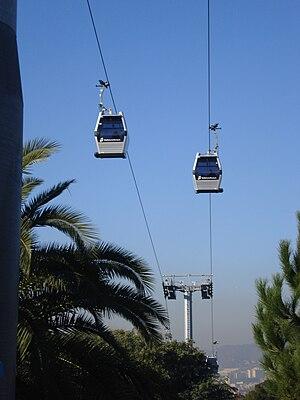 Montjuïc Cable Car - Image: Telefèric montjuïc 1