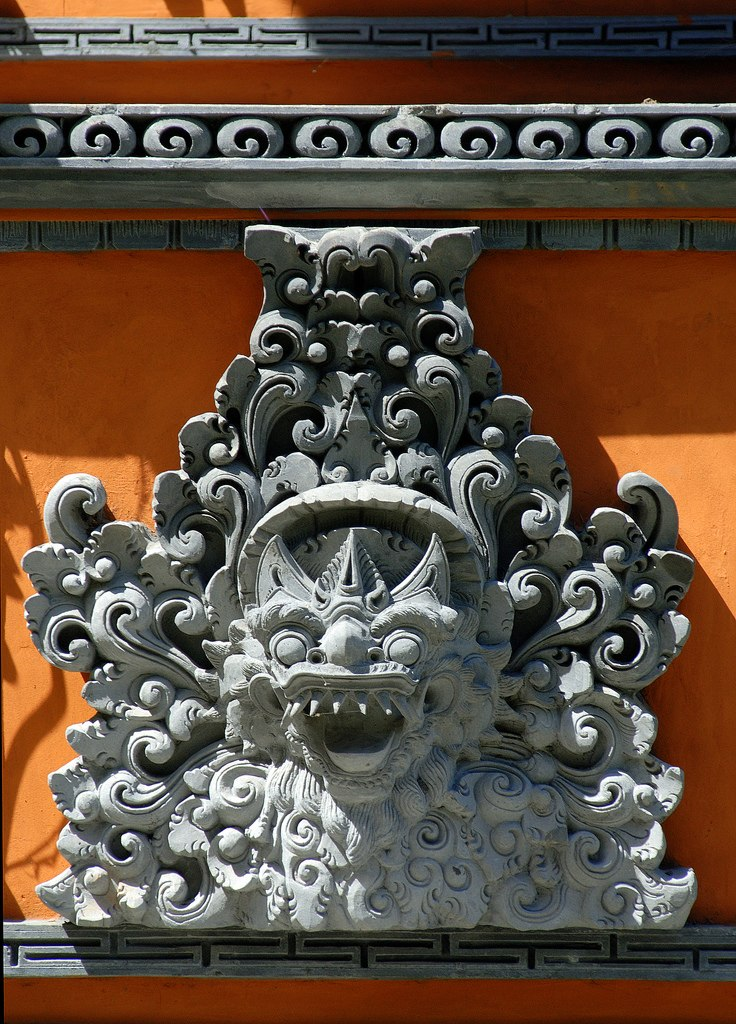 Temple detail in bali