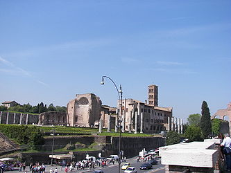 Temple of Venus and Santa Francesca Romana 2.jpg