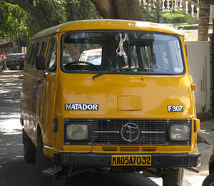 Force Motors - Tempo Bajaj Matador (Hanomag / Mercedes-Benz License of Harburger Transporter)