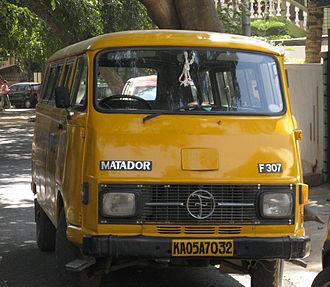 Force Motors - Tempo Bajaj Matador (Hanomag / Mercedes-Benz License of Harburger Transporter)