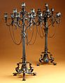 Ten-light Grecian-style candelabrum (one of a pair) MET ES5974.jpg