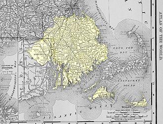 Pokanoket - Image: Territories and Boundaries of Pokanoket Tribe
