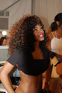 Teyana Taylor American singer-songwriter, actress, dancer, model, and director from New York