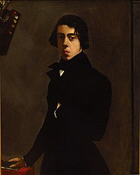 Théodore Chassériau: Self-portrait