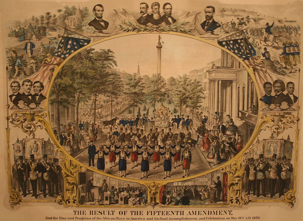File:The 15th Amendment to US Constitution.jpg - Wikimedia ...  Fifteenth