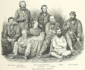 British Expedition to Abyssinia - Tewodros' captives