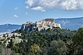 The Acropolis of Athens from the Hill and the Areopagus from the Pnyx on March 18, 2020.jpg