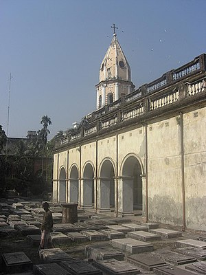 Christianity in Bangladesh - Dhaka's Armenian Church, built in 1781