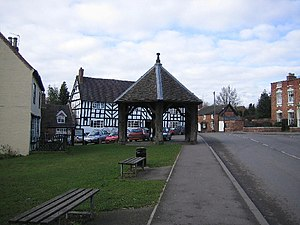 Grade II* listed buildings in East Staffordshire - Image: The Butter Cross, Abbots Bromley geograph.org.uk 123390