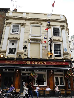 The Crown, Covent Garden - The Crown, Monmouth Street, Covent Garden (2016)